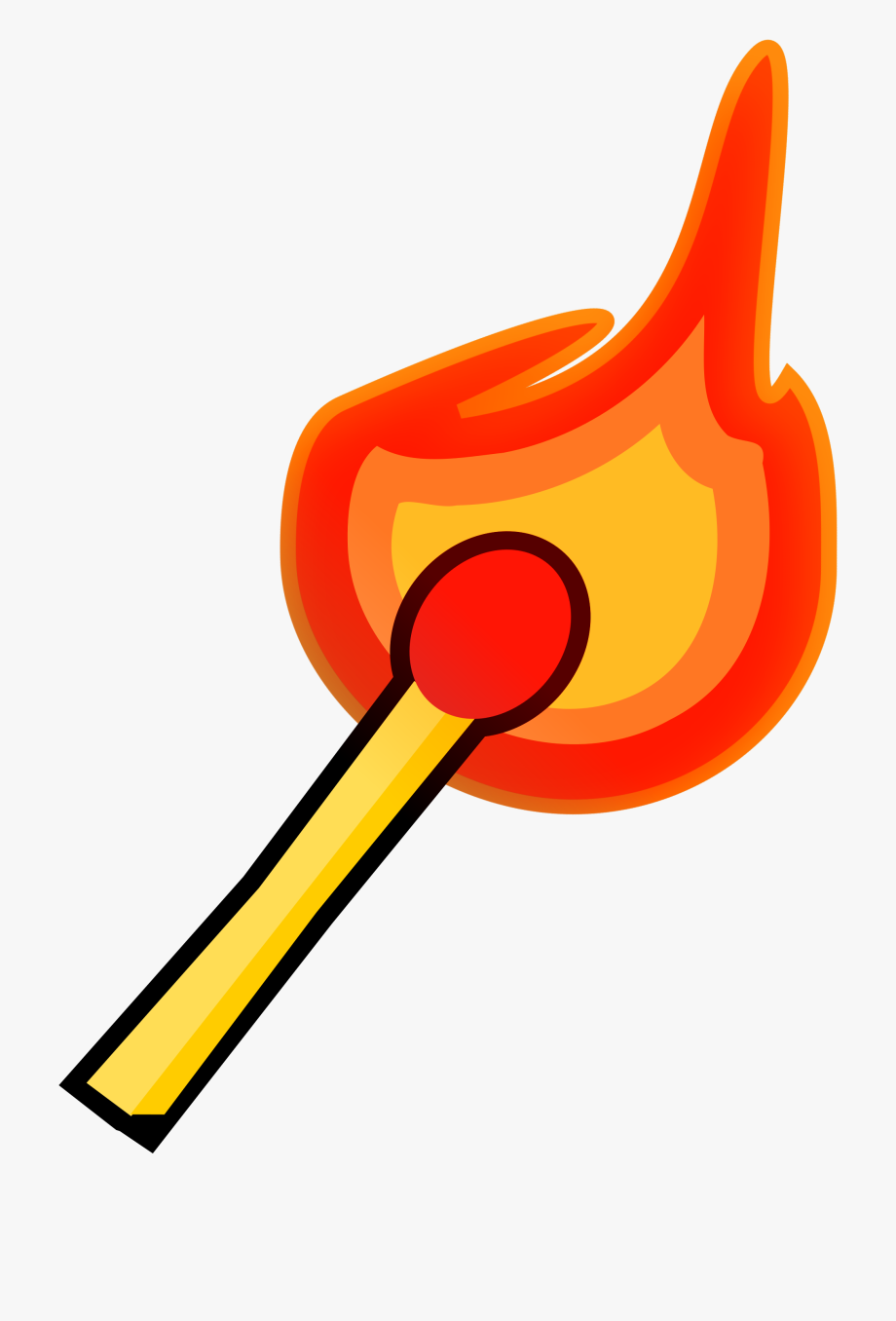 Fire flames at getdrawings. Match clipart
