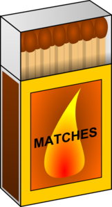 Match clipart. Box clip art at