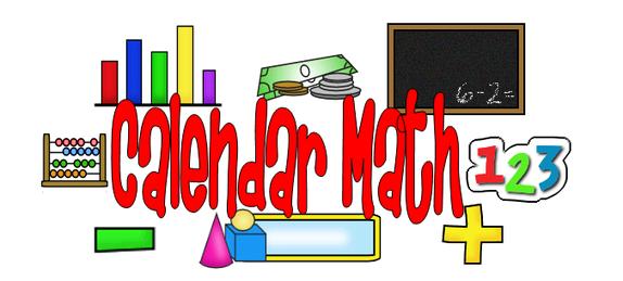 Mrs shannon s class. Math clipart calendar
