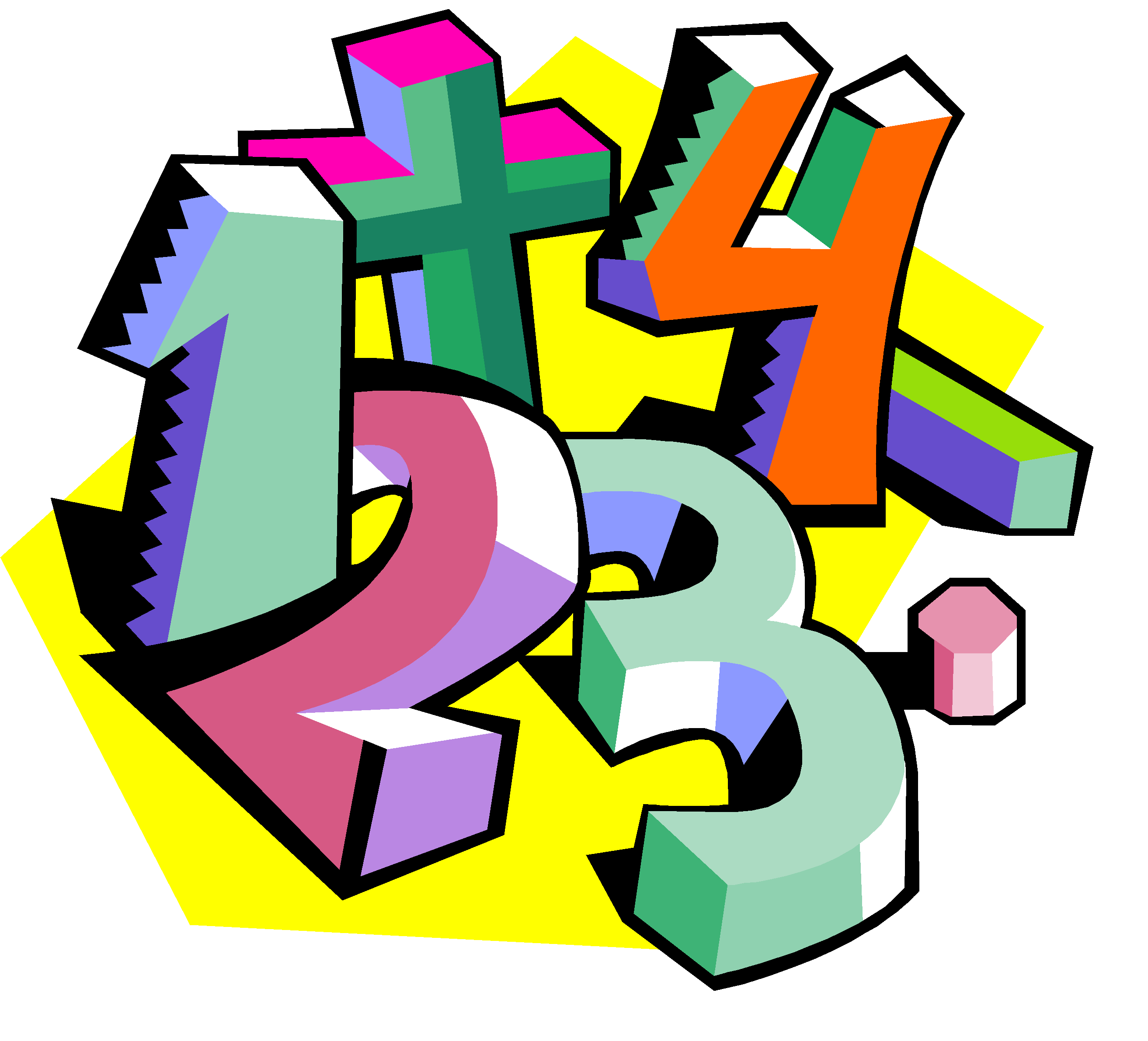Sense nonpositional numeral system. Number clipart mathematics