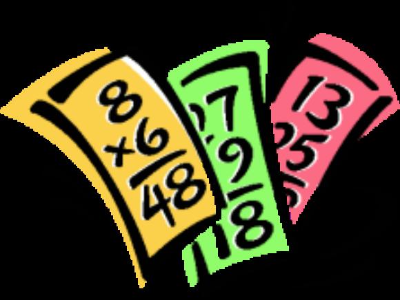 Multiplication clipart additional mathematics. Math flash cards clip