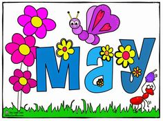 May clipart. Free month clip art