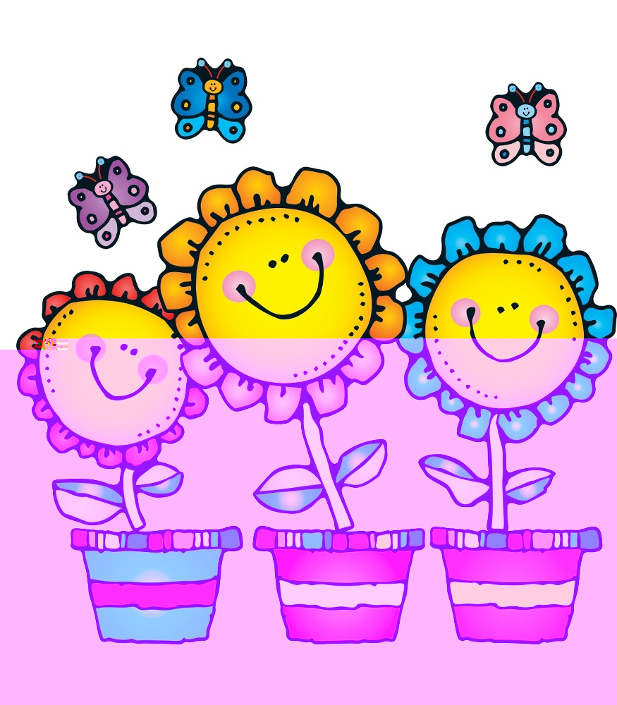 May clipart. Flowers blooming clipartix