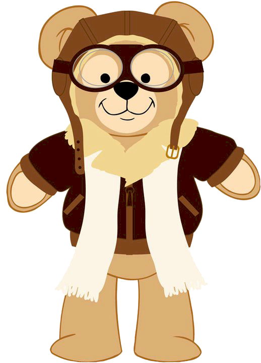 Pajamas clipart duffy. The bear