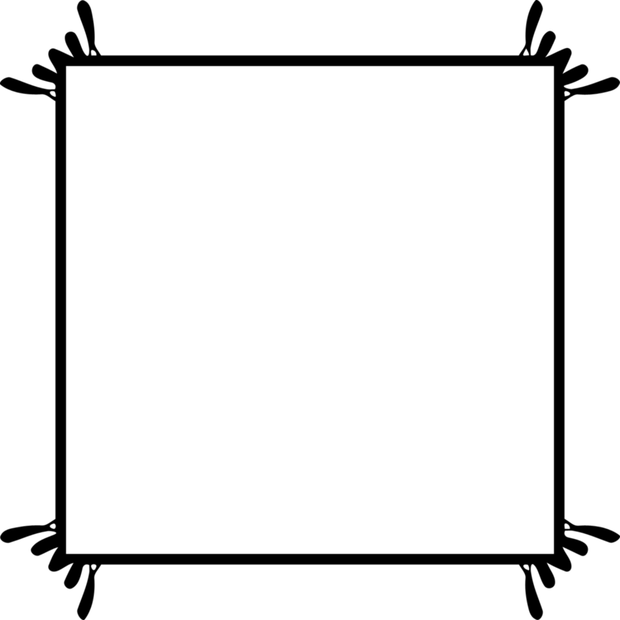 By shelbykateschmitz on deviantart. Square picture frame png