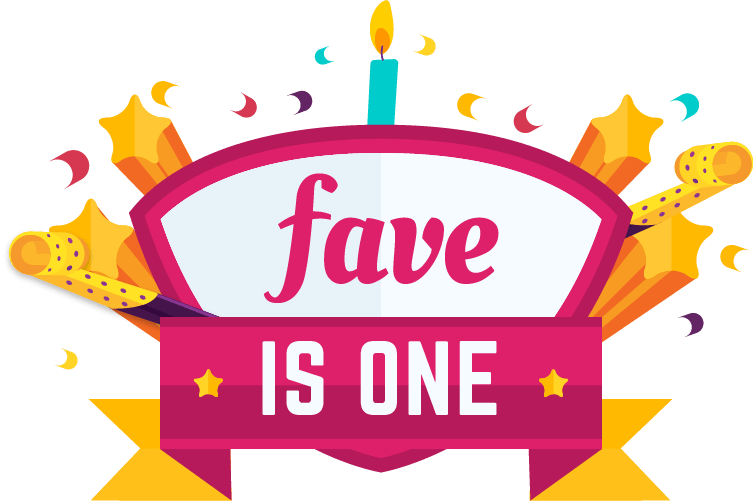 Fave is birthday bash. One clipart fun number
