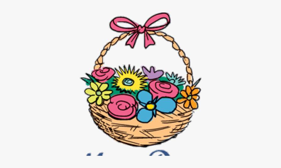 May clipart may basket. Mothers day holiday