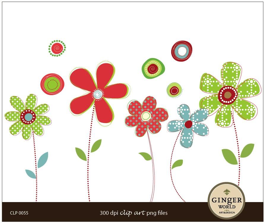 May clipart modern flower. Basket clip art library