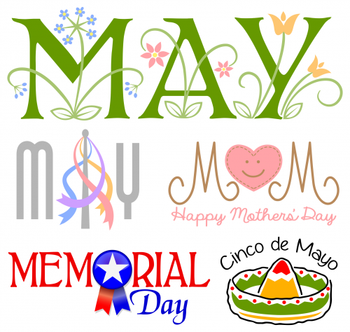 May clipart month year. Of the kidspressmagazine com