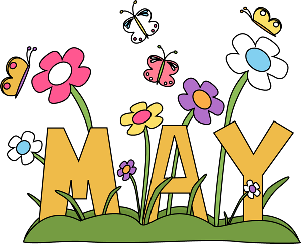 Clip art images month. May clipart