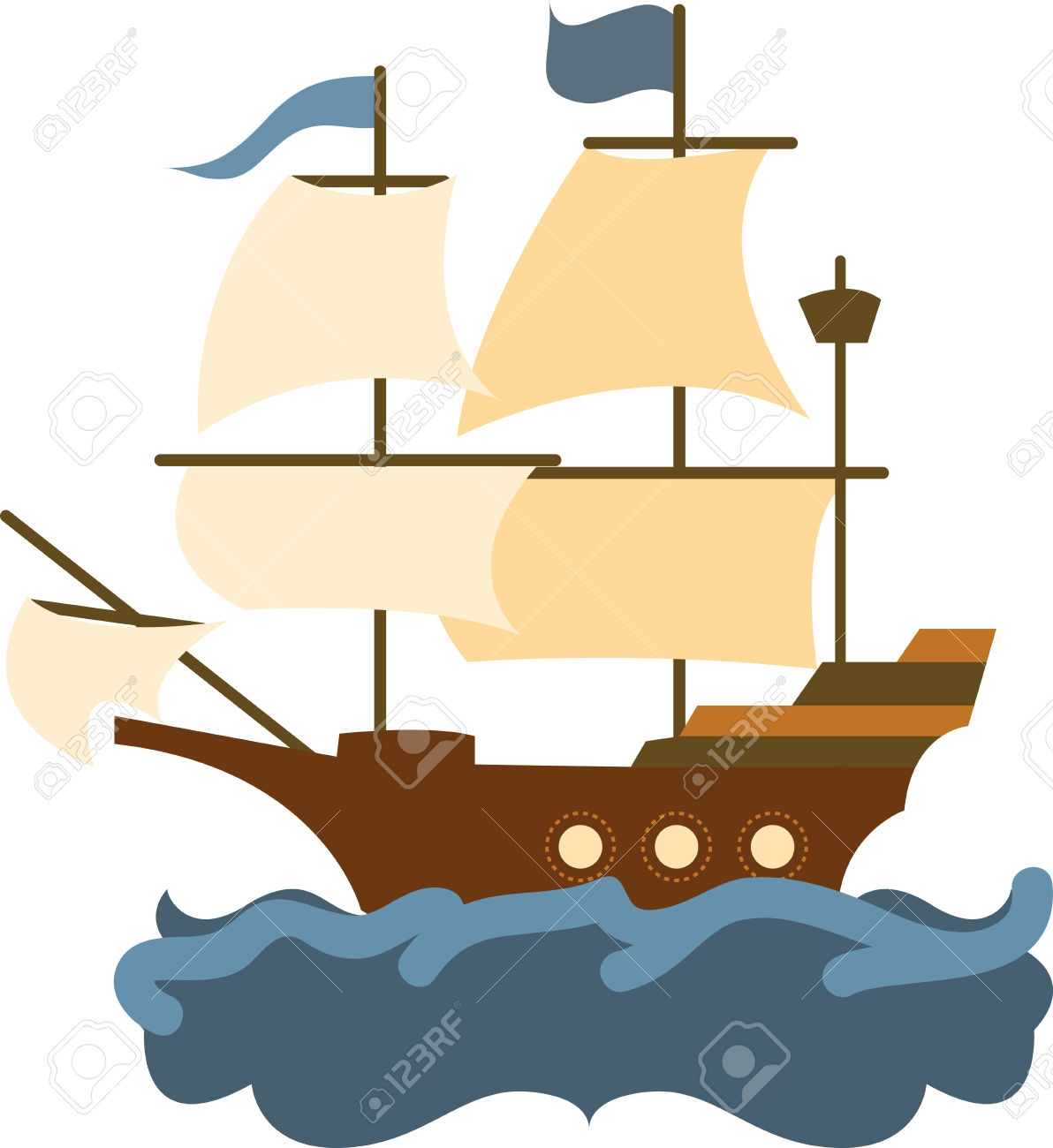 Mayflower clipart. Ship at getdrawings com