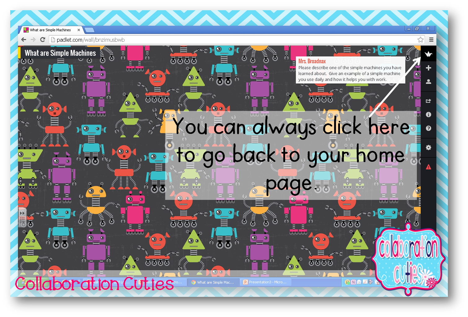 Mayflower clipart all aboard. How to use padlet
