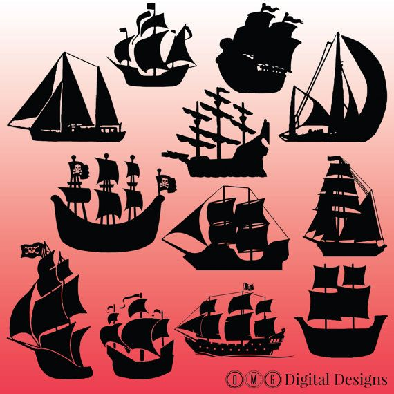 Mayflower clipart ancient ship.  pirate silhouette images