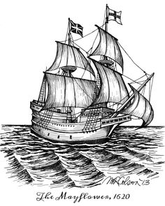 Galleon drawing at paintingvalley. Mayflower clipart ancient ship
