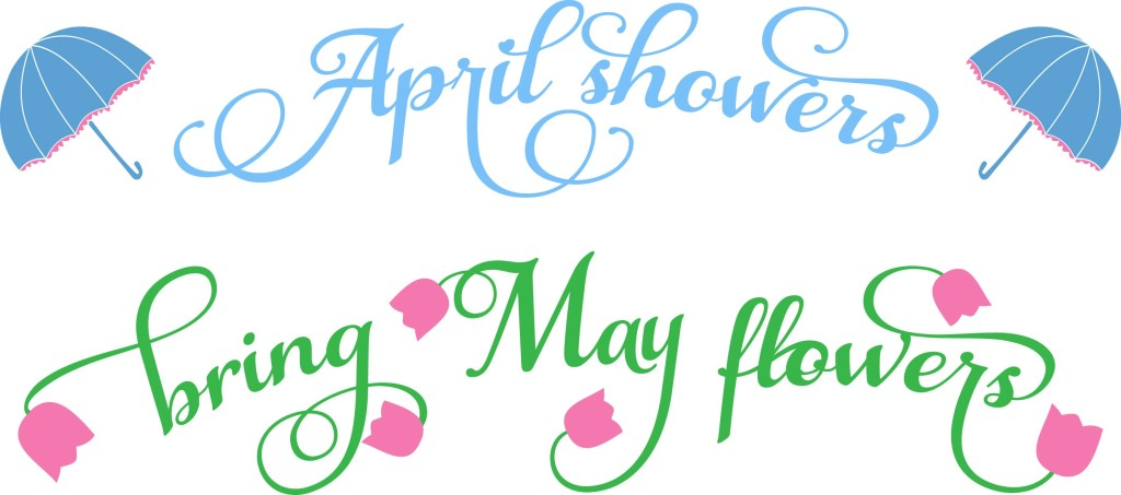 Mayflower clipart april shower. Showers bring may flowers