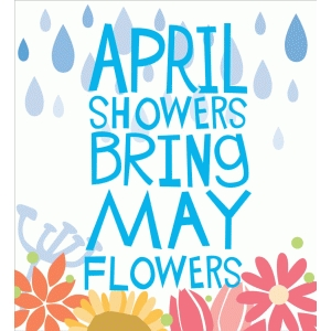 mayflower clipart april shower