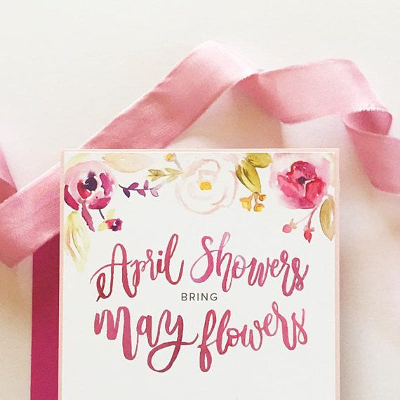 Mayflower clipart april shower. Watercolor graphics for designers
