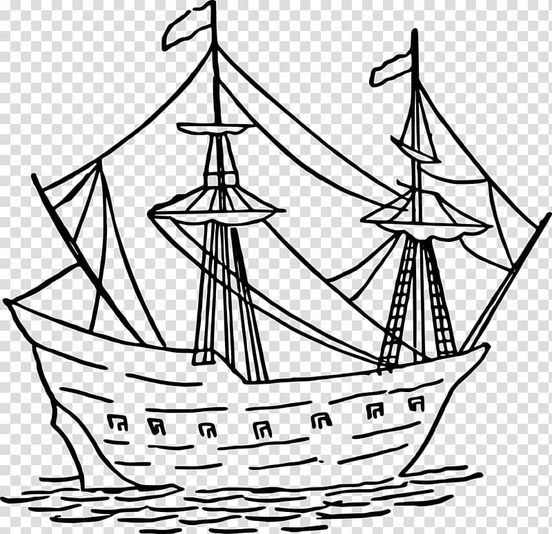 Free download caravel ship. Mayflower clipart caravels
