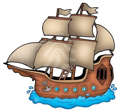 Mayflower clipart colonial ship.  by ships clip