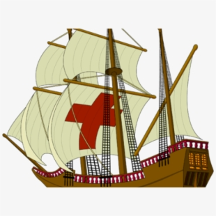 Ship thanksgiving no background. Mayflower clipart cruise