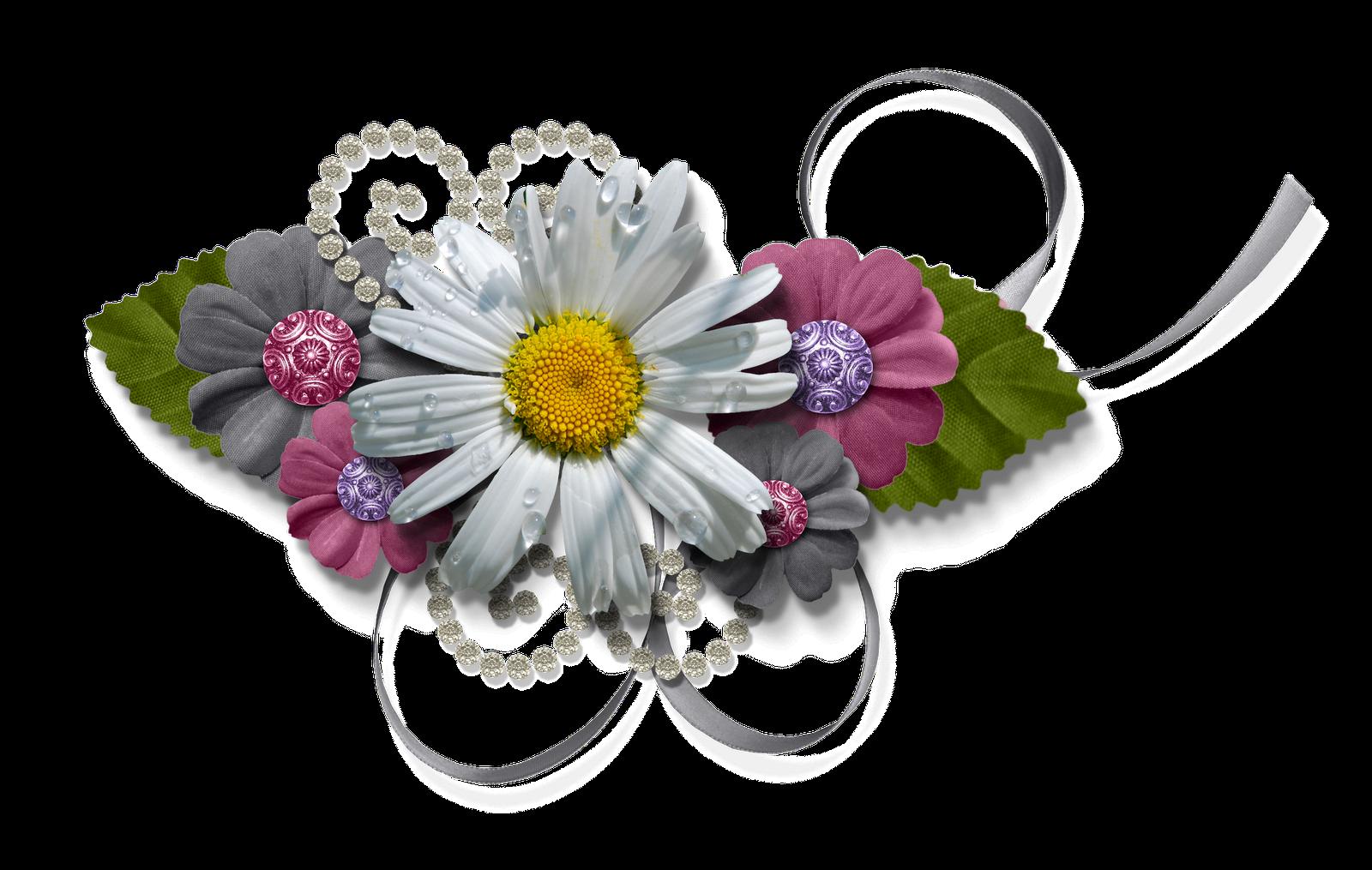Scrapbook png cluster freebies. Mayflower clipart gerbera flower