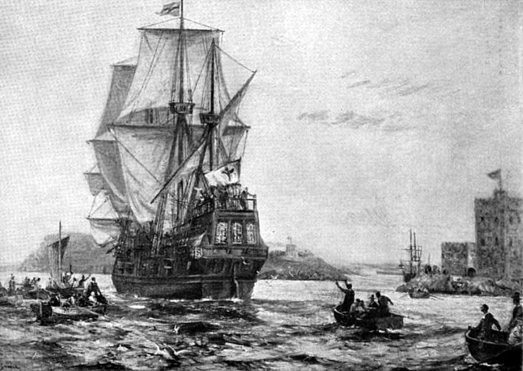 Mayflower clipart journey. Thanksgiving pilgrims public domain