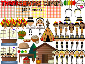Mayflower clipart native american. Thanksgiving pieces pilgrims food