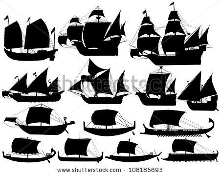Mayflower clipart odysseus boat. Different boats used to
