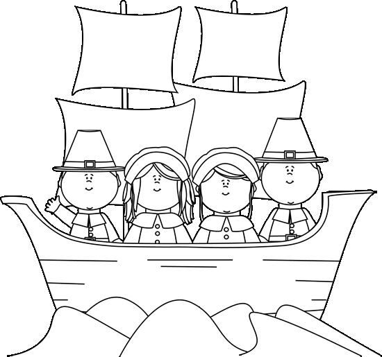 Mayflower clipart pilgrams. Black and white pilgrims