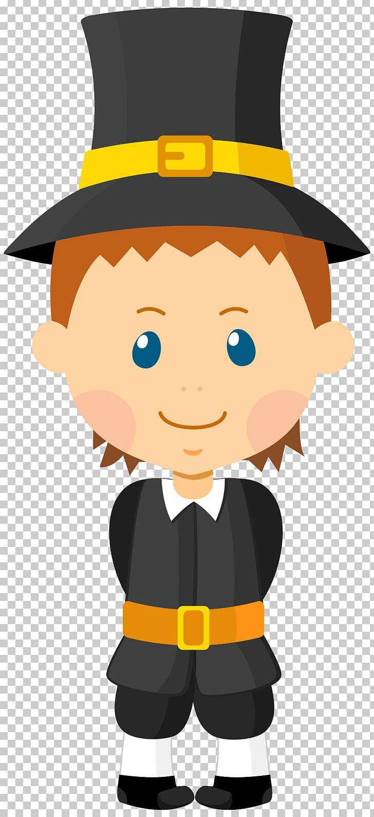 Pilgrims png cartoon child. Mayflower clipart pilgrim boy