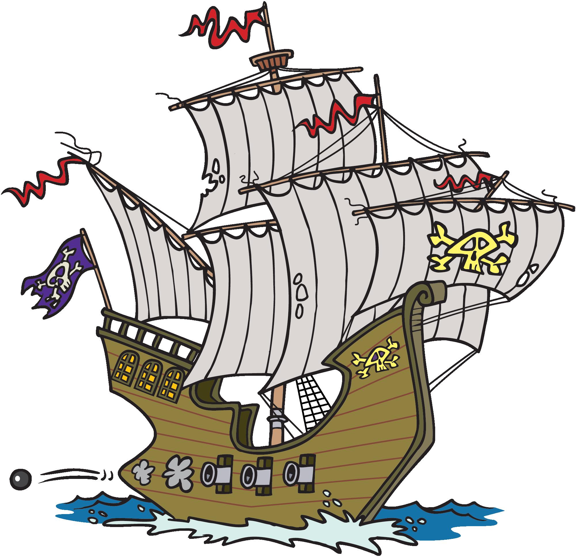 Mayflower clipart sail boat. Cartoon ship pirate rjjnxg