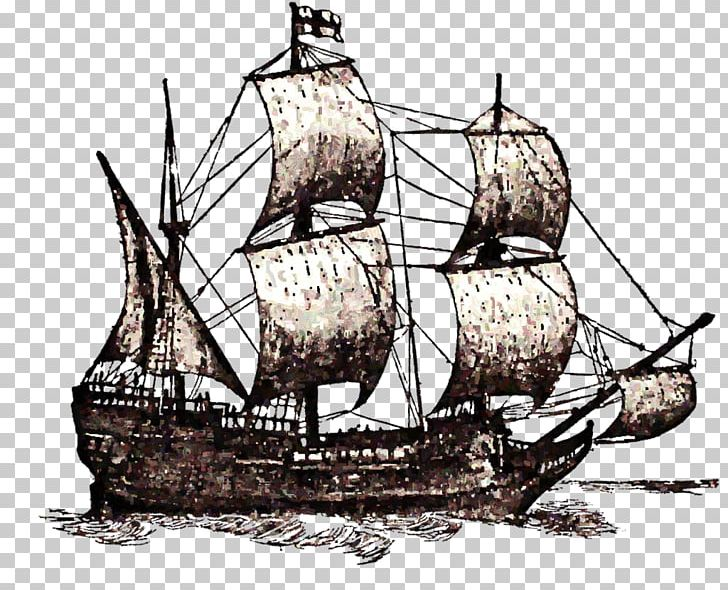Ii drawing png art. Mayflower clipart three ship