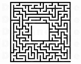Etsy . Maze clipart