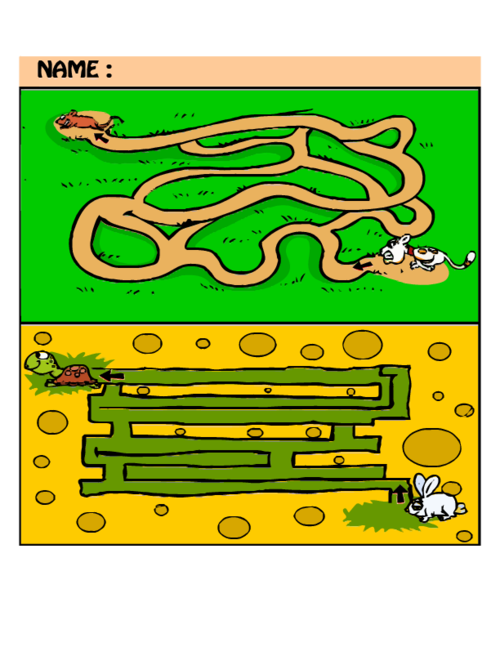 Beginner for kids kidspressmagazine. Maze clipart brain