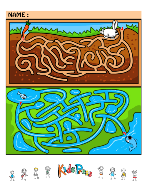 Maze clipart brain. Medium kids games kidspressmagazine