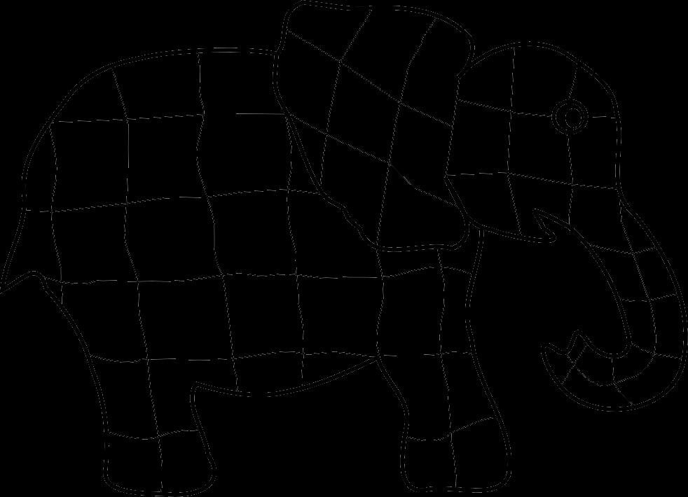 Elmer pinterest teaching ideas. Maze clipart elephant