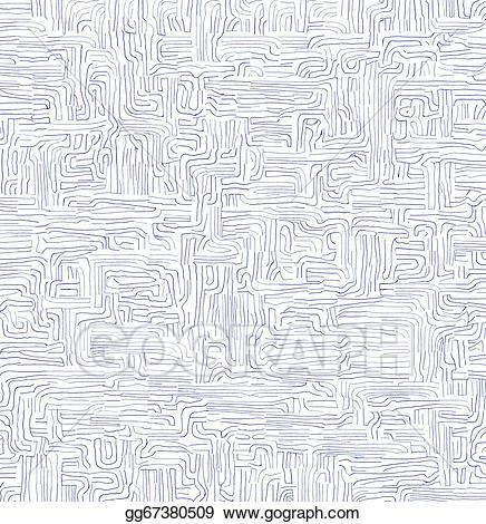 Handwritten labyrinth background stock. Maze clipart handwriting