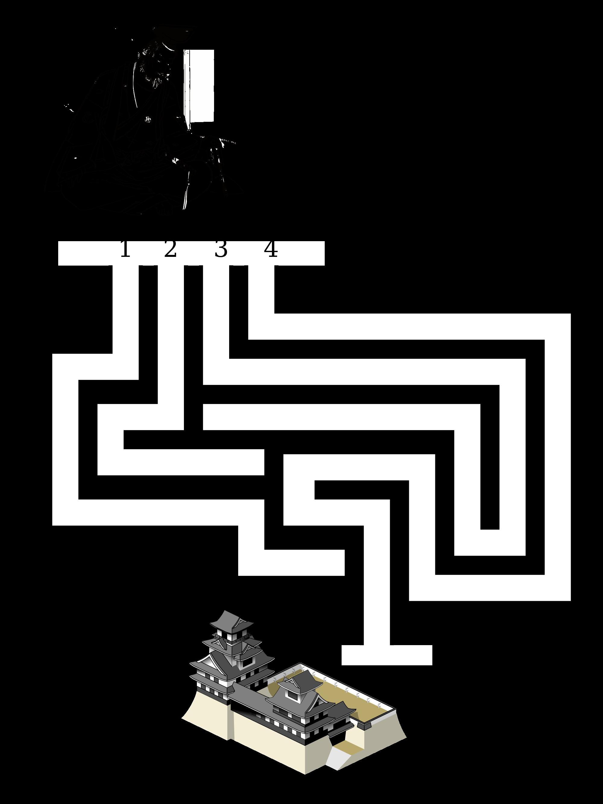 Funky printable mazes kindergarten. Maze clipart medium difficulty