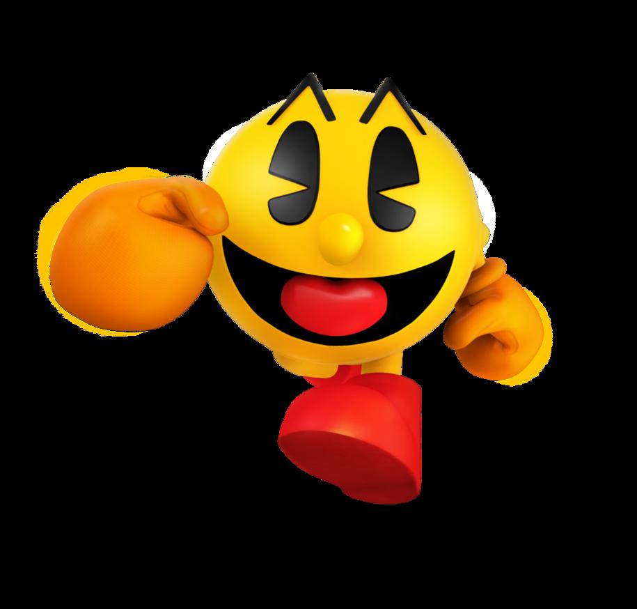 Pac man world remake. Pacman clipart orange