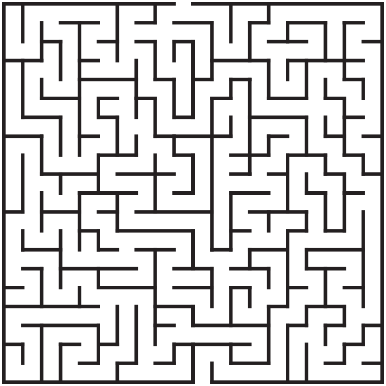 Maze clipart png games. Square medium recreation html
