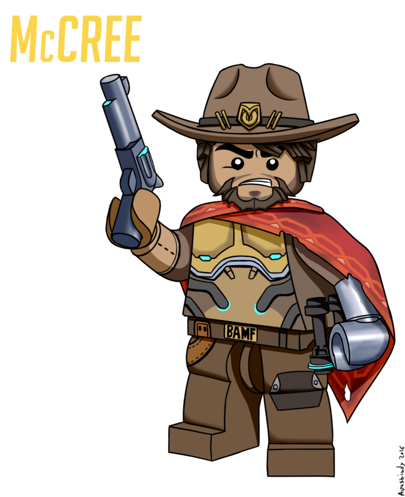Legoverwatch know your meme. Mccree overwatch png