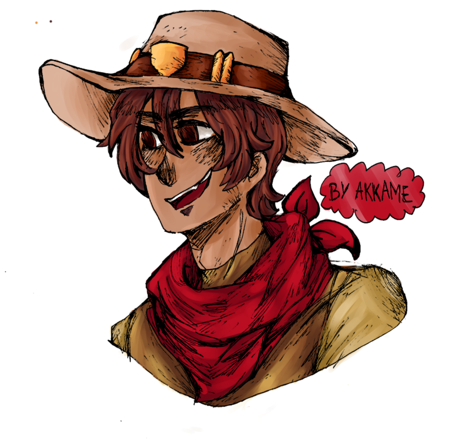 Mccree overwatch png. Young by akkame on