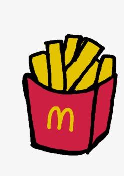 Mcdonalds clipart. Mcdonald s cartoon lovely