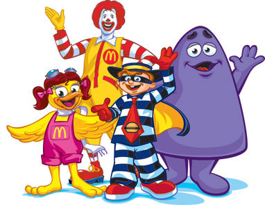 Mcdonalds clipart character. The chuck e cheese