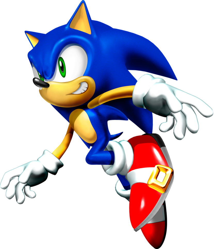 Mcdonalds clipart character. Rare sonic render by