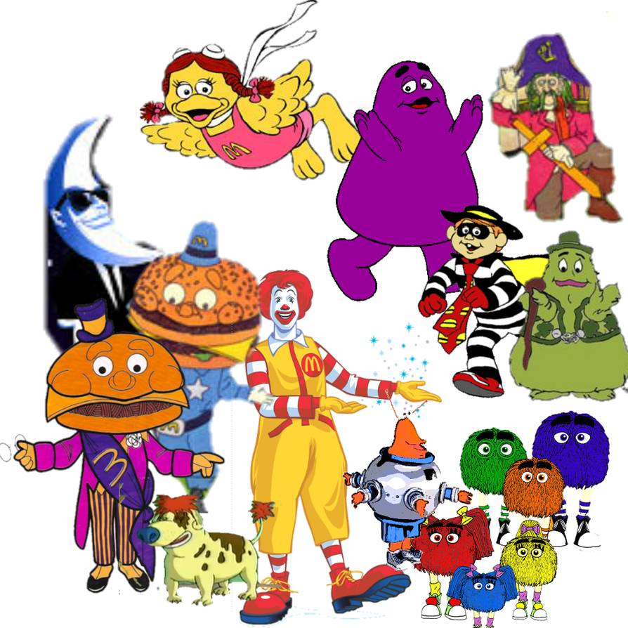 Mcdonalds clipart character. Download for free png