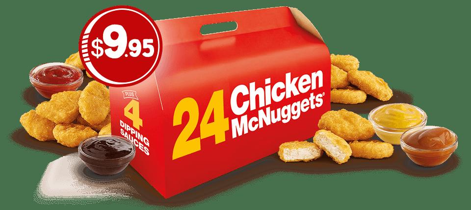 Mcdonalds clipart combo meal. Deal mcdonald s nuggets
