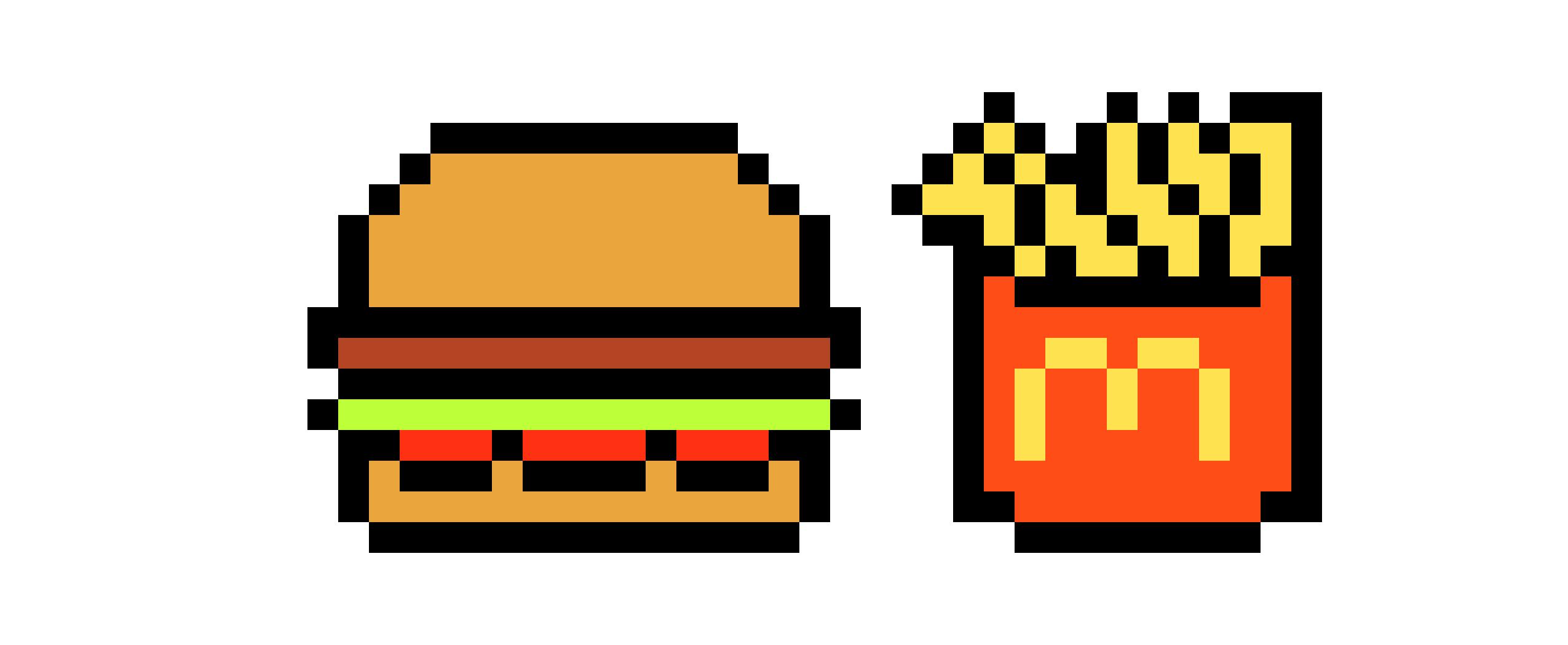 Mcdonalds Clipart Pixel Mcdonalds Pixel Transparent Free