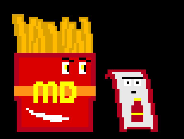 Mcdonalds pixel
