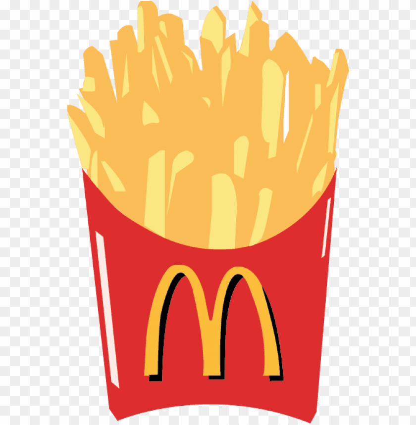 Fries png image with. Mcdonalds clipart title